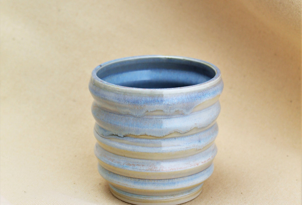 Pearly Blue Tumbler
