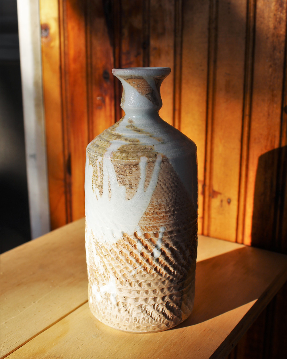wood fired ceramic pottery porcelain with glaze