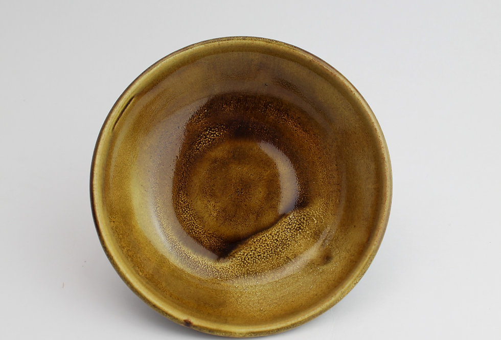 Dish with Chattered Exterior