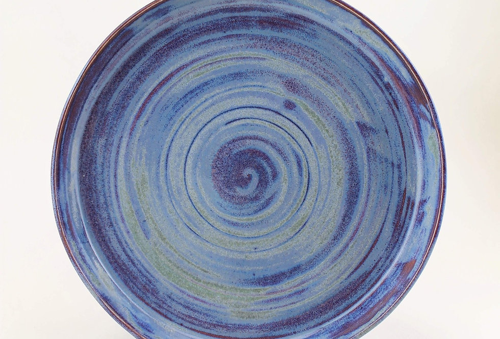 Blue and Purple Plate