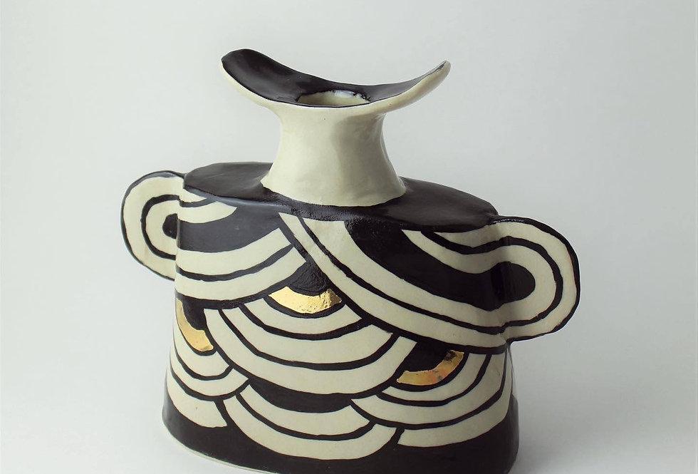 Round Patterned Vase