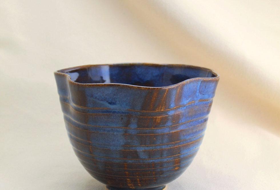 Floating Blue Fruit Bowl