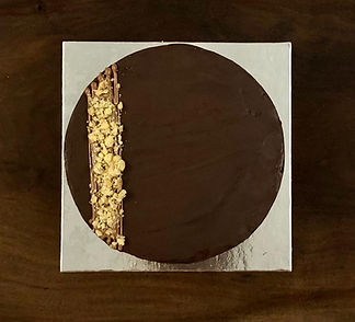 belgian dark chocolate walnit cake