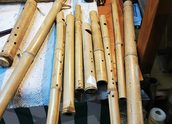 Flautas de cana