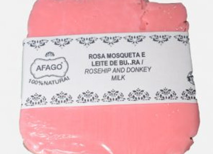 Sabonete Rosa Mosqueta e Leite de Burra