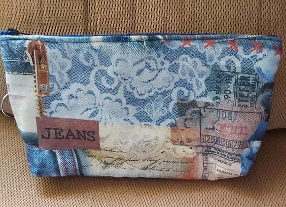 Malas e carteiras em tecido
