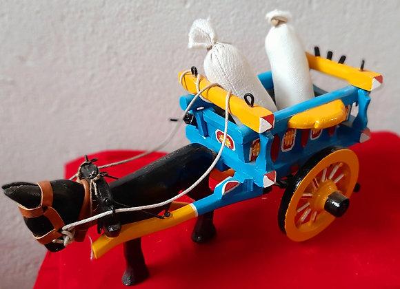Carroça de madeira