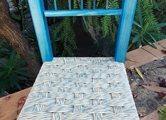Cadeira de criança Azul