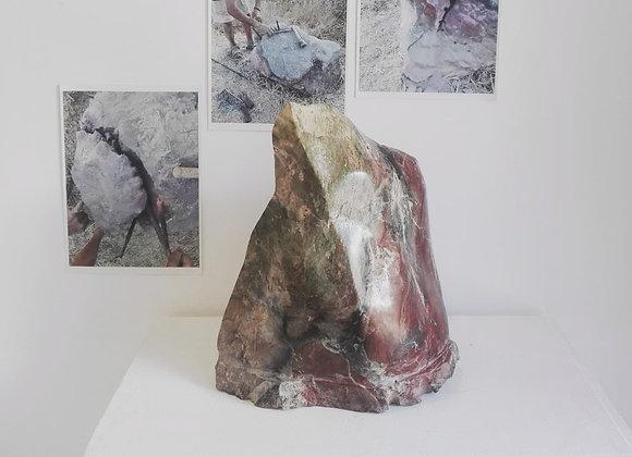 Escultura em pedra