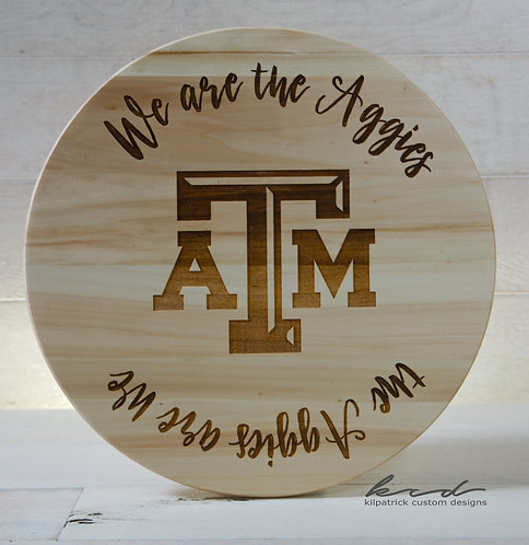 Lazy Susan - We are the Aggies