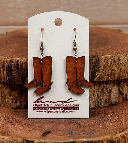 Earrings- Senior Corps Boots
