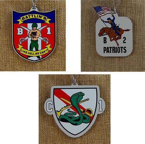 Ornaments - 1st Brigade, 2nd Brigade, 3rd Brigade