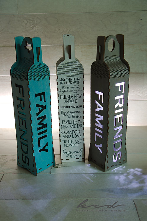 Wine Gift Box - Family and Friends