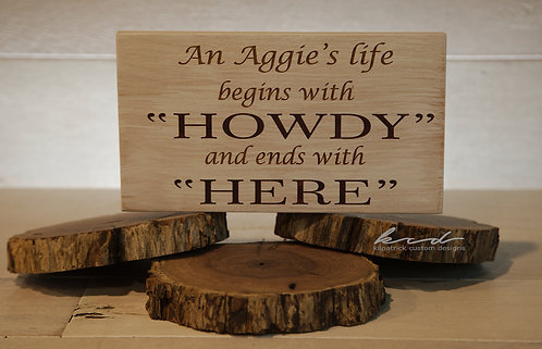 Sign - Howdy to Here