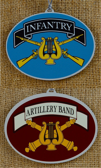 Ornaments - Artillery and Infantry Band