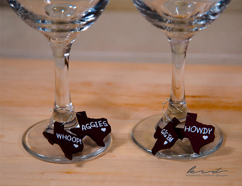 Wine Charms -  Texas A&M