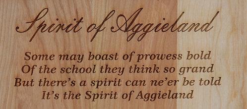Cutting Board - The Spirit of Aggieland