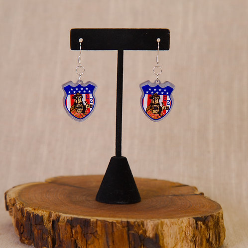 Earrings - 1st Regiment, 2nd Regiment, 3rd Regiment