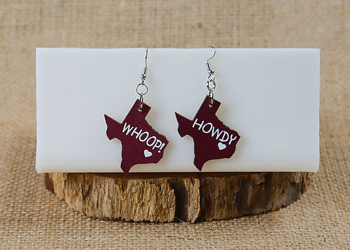 Earrings - Texas
