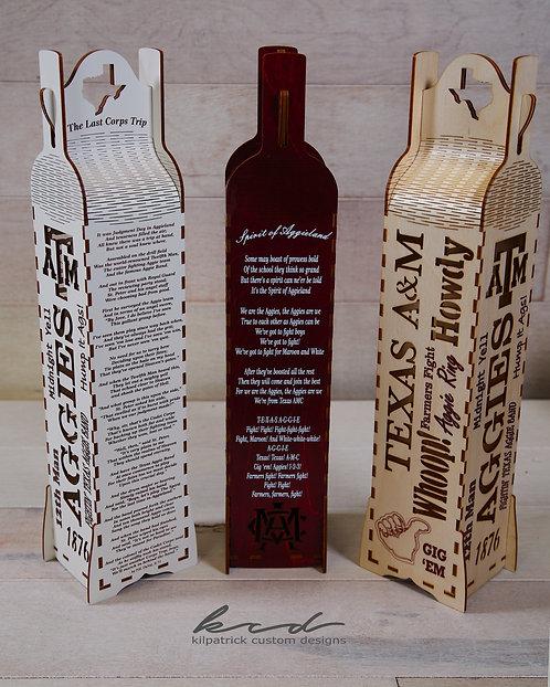 Wine Gift Box - Texas A&M