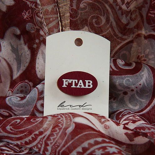 Pin/Tacks Set of 6 - FTAB Collection
