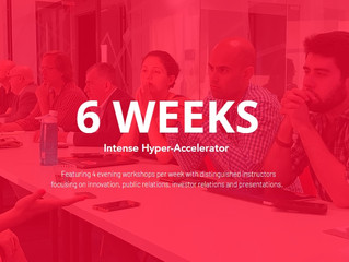 Discover the 6 Week Hyper-Accelerator Designed to Disrupt Marketplaces