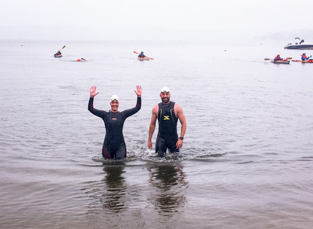 Taking the Plunge:  Trying out Open Water Swimming