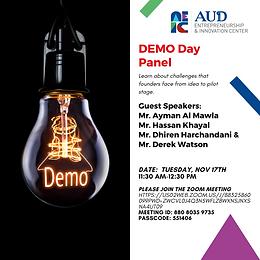 Nov 17th Demo Day Panel.png