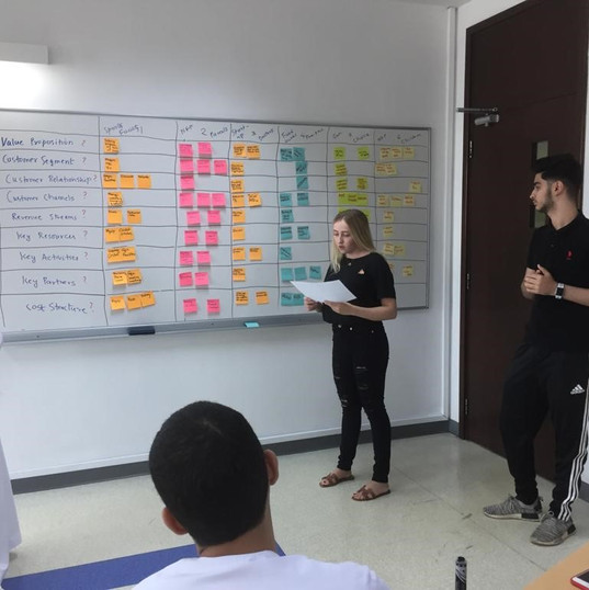 Students Present their BMC