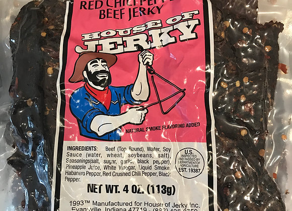 Red Chilli Pepper Beef Jerky
