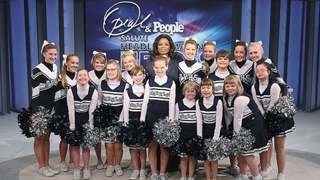 Spartan Sparkles Appear on Oprah
