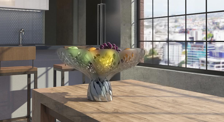 Blossom a living fruit bowl