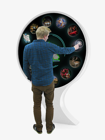 Flow interactive infoboard