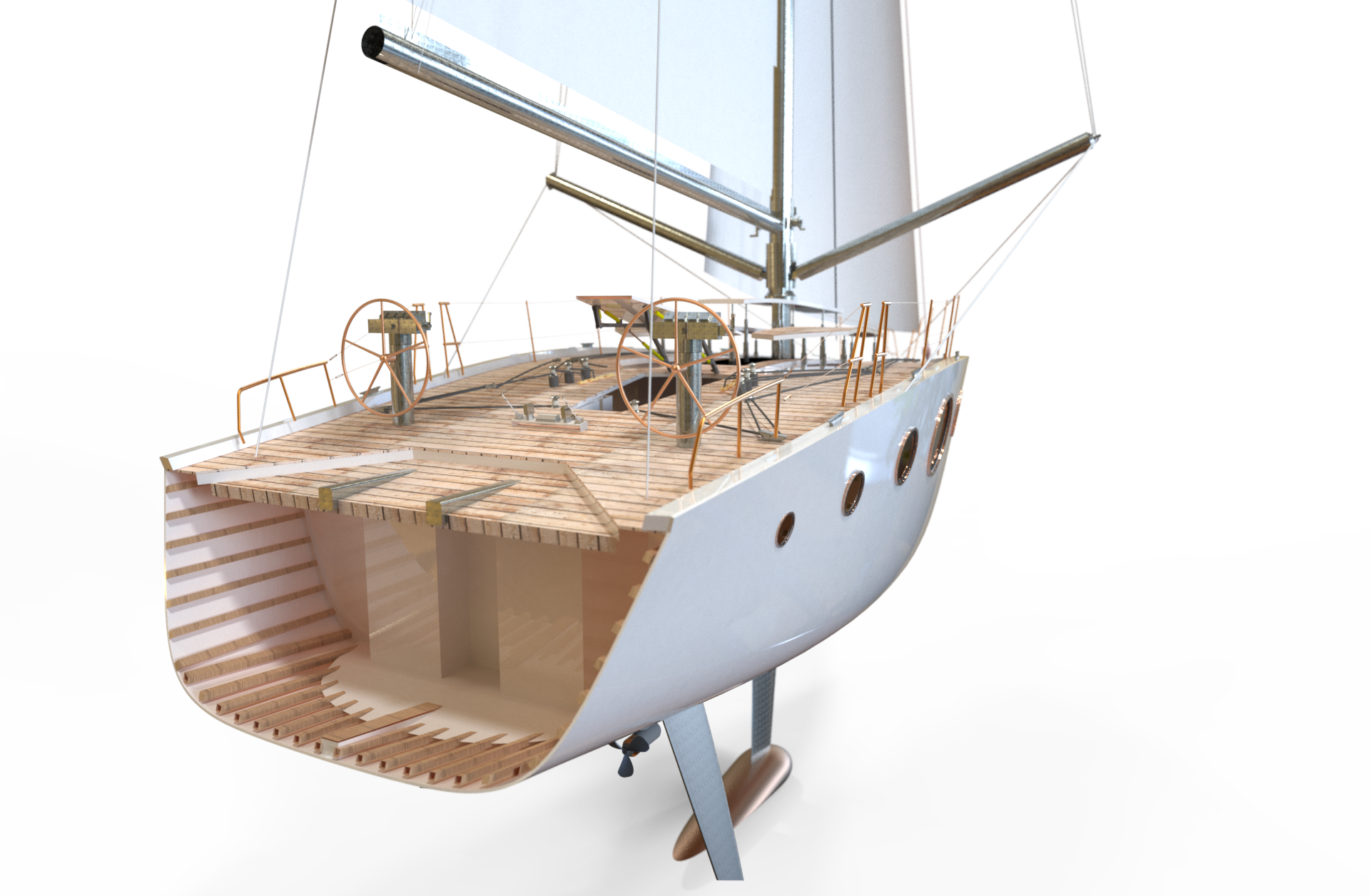 TAMARRA 45' | Sailboat section