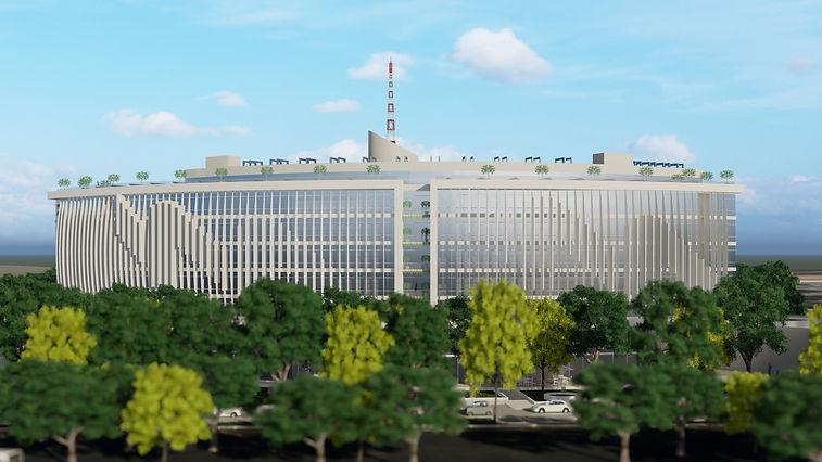 גן שורק - חברת חשמל - חזית צפונית - 1.jp