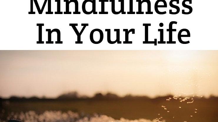 Mindfulness E-Workbook