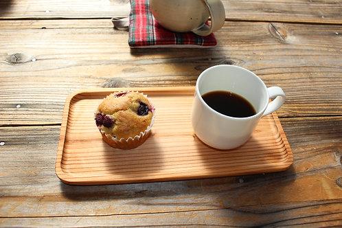 杉のカフェトレイ