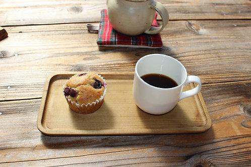ホオノキのカフェトレイ