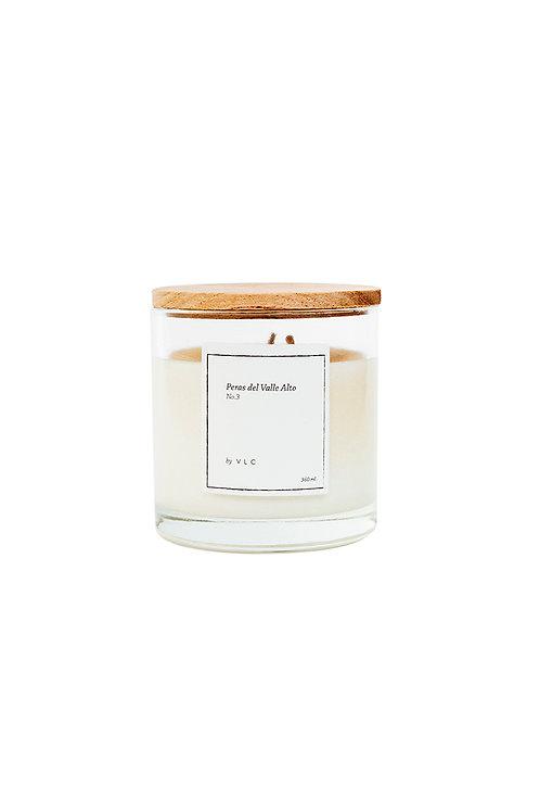 Vela aromática de Peras blancas & Roble
