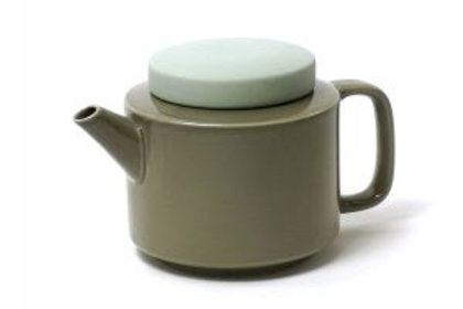 Teekanne Keramik L,Seladon (Jadegrün)