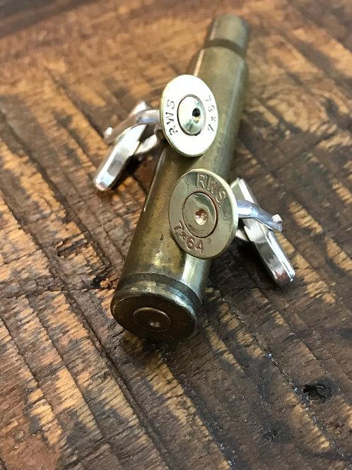 Manschettenknöpfe Ammo (7x64)
