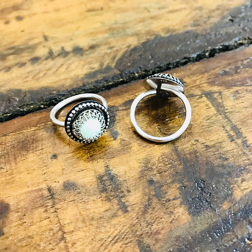 "Ring ""Dirndl"" Zitronenchrysopras"