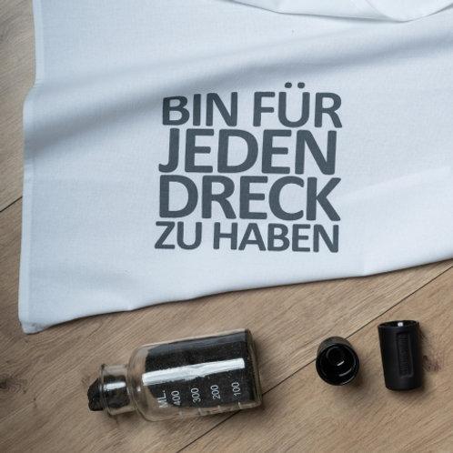 BIN FÜR JEDEN DRECK ZU HABEN/ Geschirrtuch