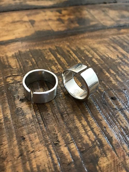 Offener Bandring aus 925-Silber
