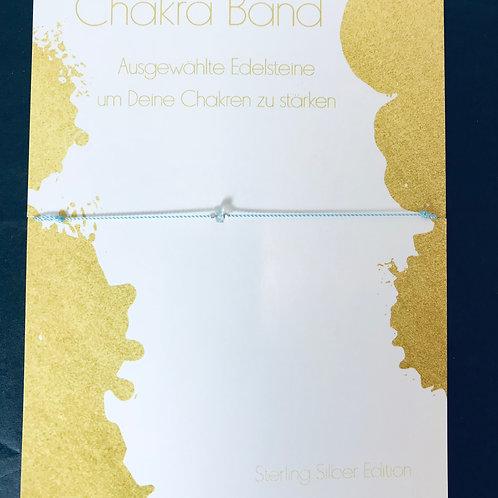 Chakra Band Aquamarin