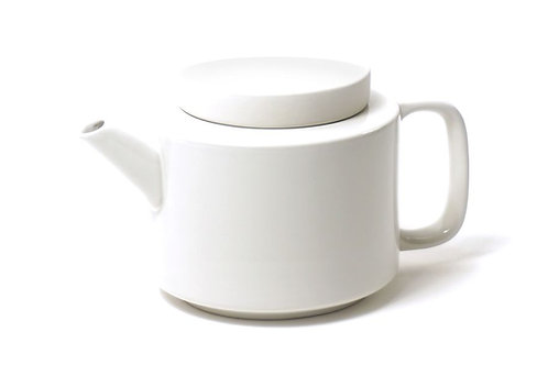 Teekanne Keramik L,Weiß