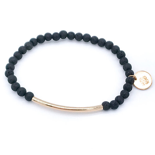 Lava Armband Mix & Match vergoldet