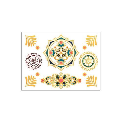 Mini Mandala/ 1 Blatt mit div. Motiven