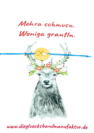 mehra schmusn / Hirsch