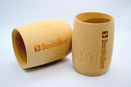 Zahnputzbecher aus Bambus